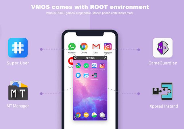 انشاء نظام وهمي وافتراضي على هواتف اندرويد