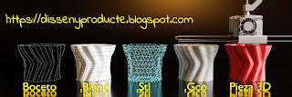 Blog DissenyProducte Impresión 3D