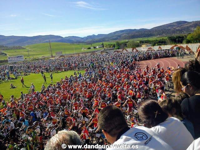 Salida 101 kms La Legión de Ronda 2012