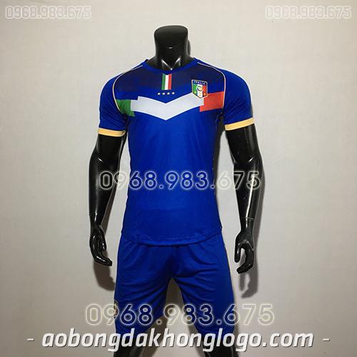 Áo Đội Tuyển Ý Training Màu Xanh 2020