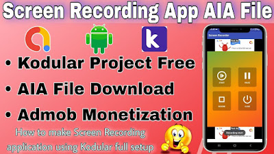 Screen recorder app AIA file free download