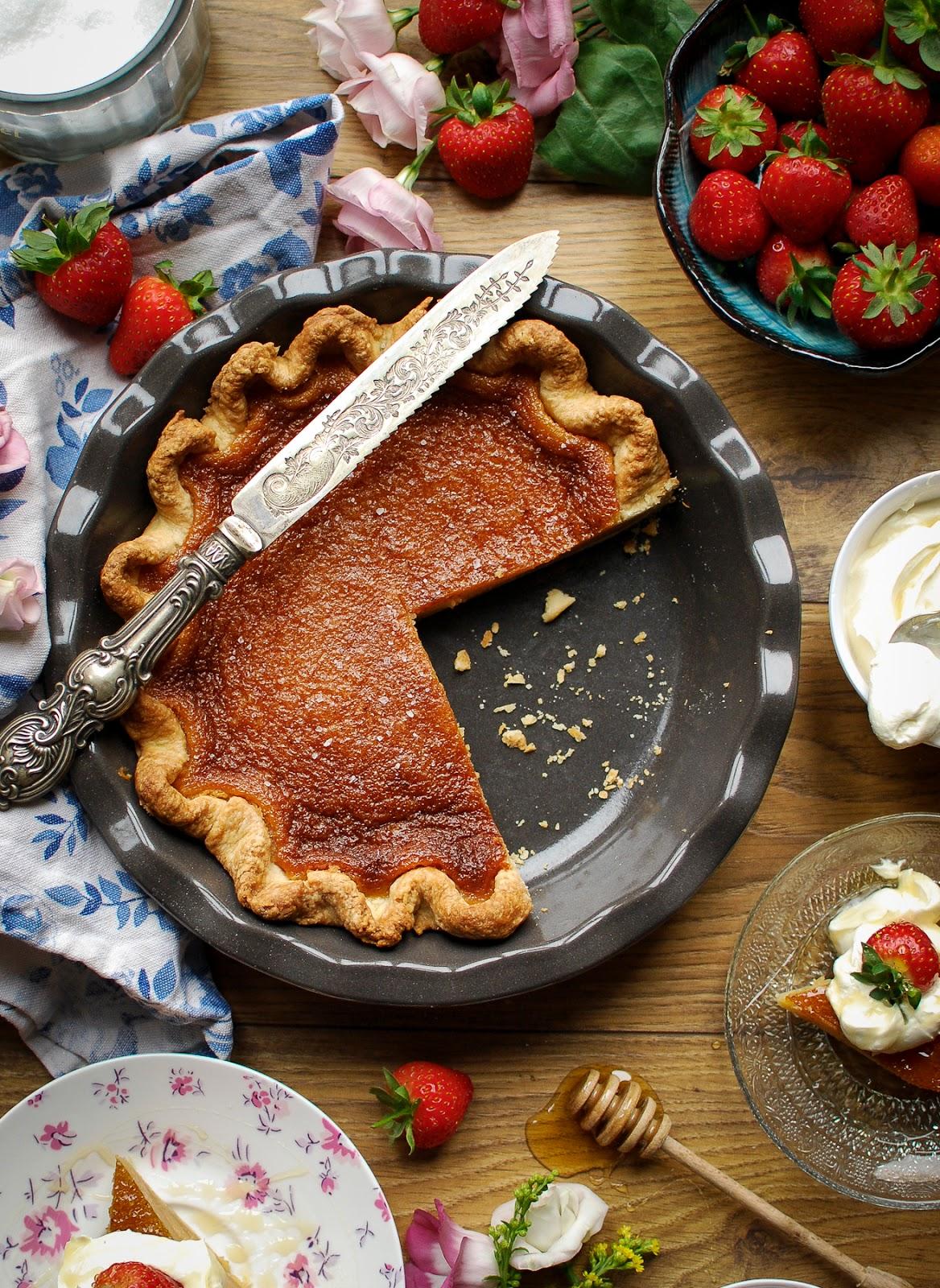 Salty Honey Pie from Four & Twenty Blackbirds Pieshop