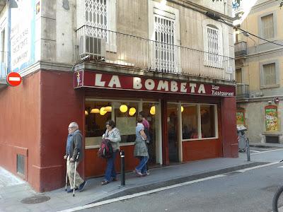 Bar La Bombeta de Barcelona