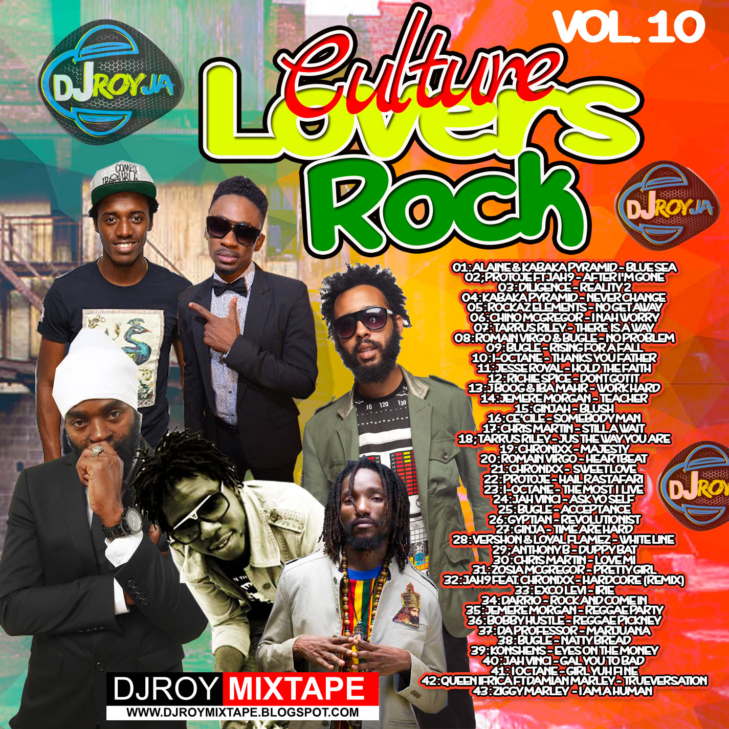 DJROYMIXTAPE : DJ ROY CULTURE LOVERS ROCK MIX VOL 10