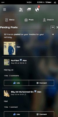 تحميل فيسبوك شفاف للاندرويد 2017