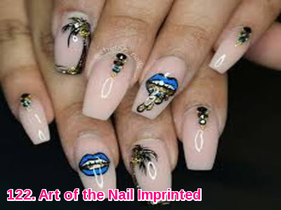 Art of the Nail Imprinted