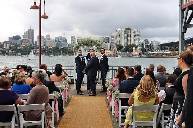 Jenna Aaron Fun On The Dance Floor Pier One Sydney Harbour Wedding Dj Mc