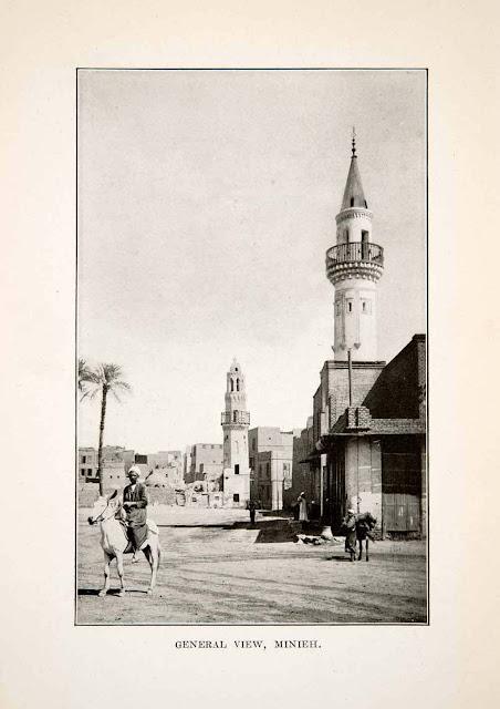 1922. Minieh, Egypt - Print