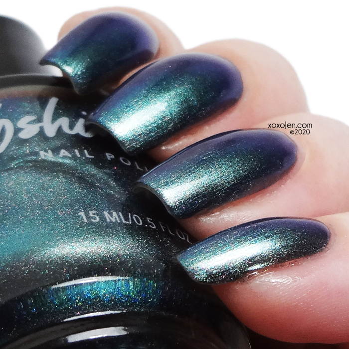 xoxoJen's swatch of KBShimmer Stay Salty