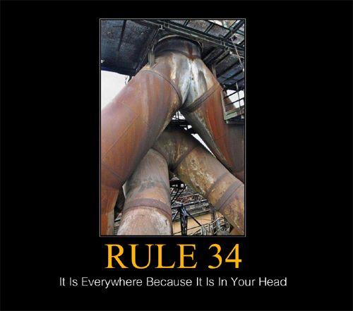 Rule 34 of the internet website