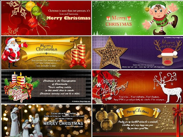 Top 20 Best Happy Christmas Facebook Covers Pic and animated gifs of 2017 | 2018