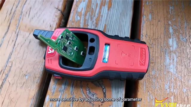VVDI Modify Smart Key Button Distance 1