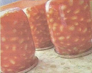 Заготовка фасоли в томате
