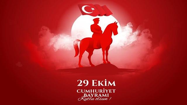 29 Ekim Cumhuriyet Bayramınız Kutlu Olsun...