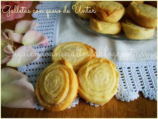 Siguiendo a nenalinda galletas con queso de untar - Postres con queso de untar ...