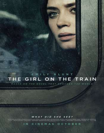 Poster Of The Girl on the Train 2016 English  300MB  720p  HEVC Free Download Watch Online world4ufree.org