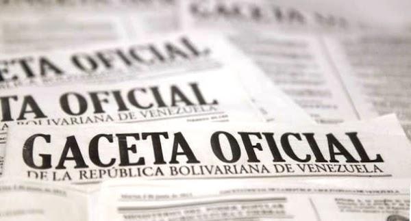 Últimos decretos presidenciales en Gaceta Oficial N° 41.433 del 4 de julio de 2018