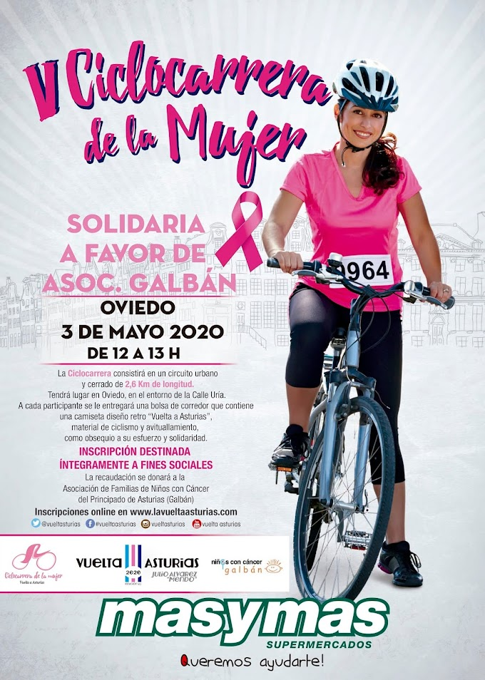 Las ciclocarreras de «La Mujer» y «Vintage» se celebrarán el domingo 3 de mayo