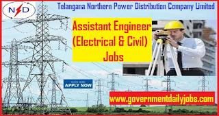 TSNPDCL 68 Assistant Engineer Posts Recruitment 2018 | Telangana jobs