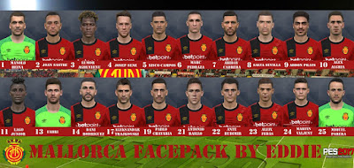 PES 2017 Facepack RCD Mallorca 2019 by Eddie Facemaker