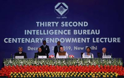 32nd Intelligence Bureau (IB) Centenary Endowment Lecture held in New Delhi