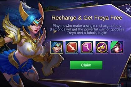 Cara Mendapatkan Hero Freya Mobile Legends, Cuma Pulsa 3 Ribu!