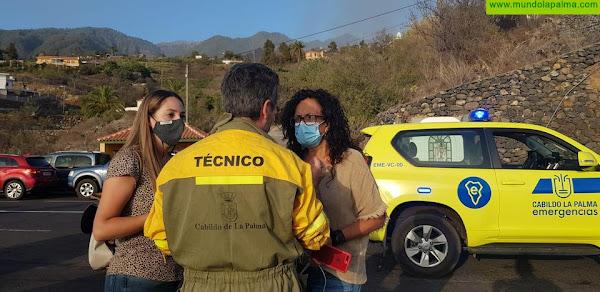 Seguridad y Emergencias colabora en la formación del grupo de voluntarios forestales de Tijarafe