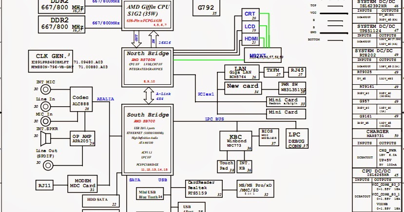 acer 5920g motherboard diagram