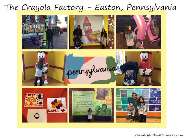 the crayola factory easton Pennsylvania; easton, PA; crayola factory; children's activities in Pennsylvania