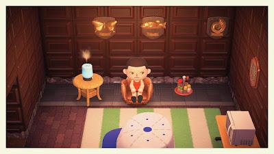 Animal Crossing Baseball Mitt Chair