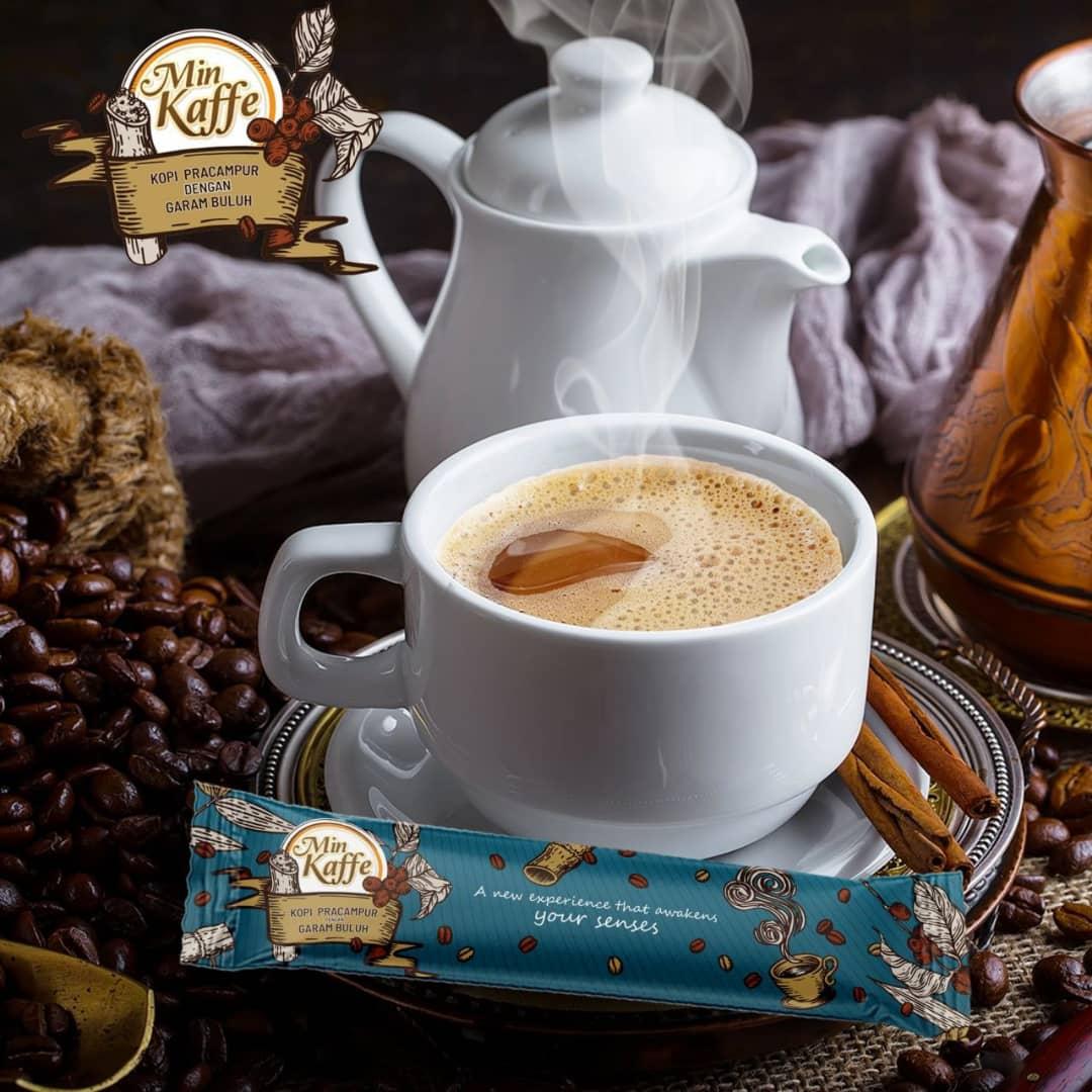 Min Kaffe Kopi Robusta garam buluh