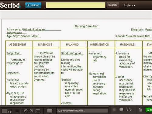 Copd nursing care plan - Nursing Care Plan Examples ...