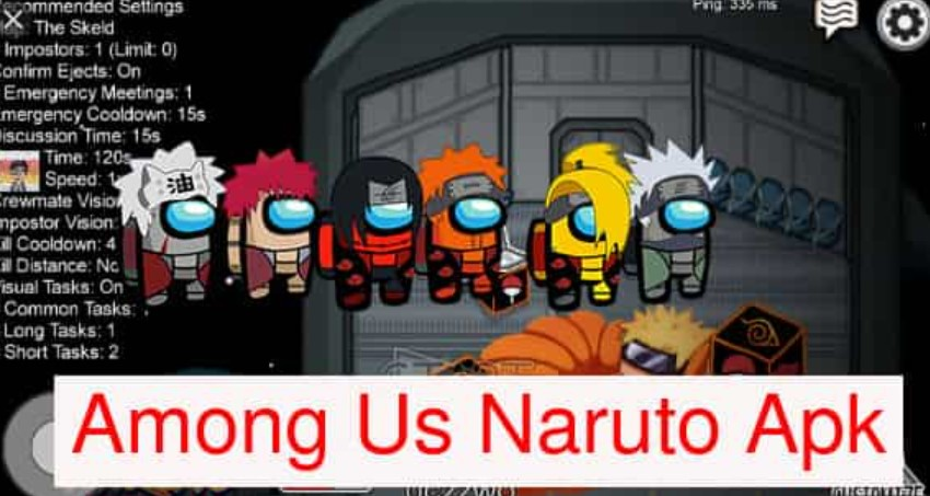 Among Us Naruto Apk