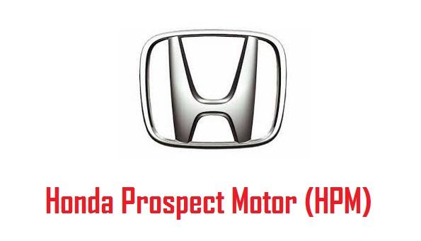 Lowongan PT. Honda Prospect Motor (HPM)
