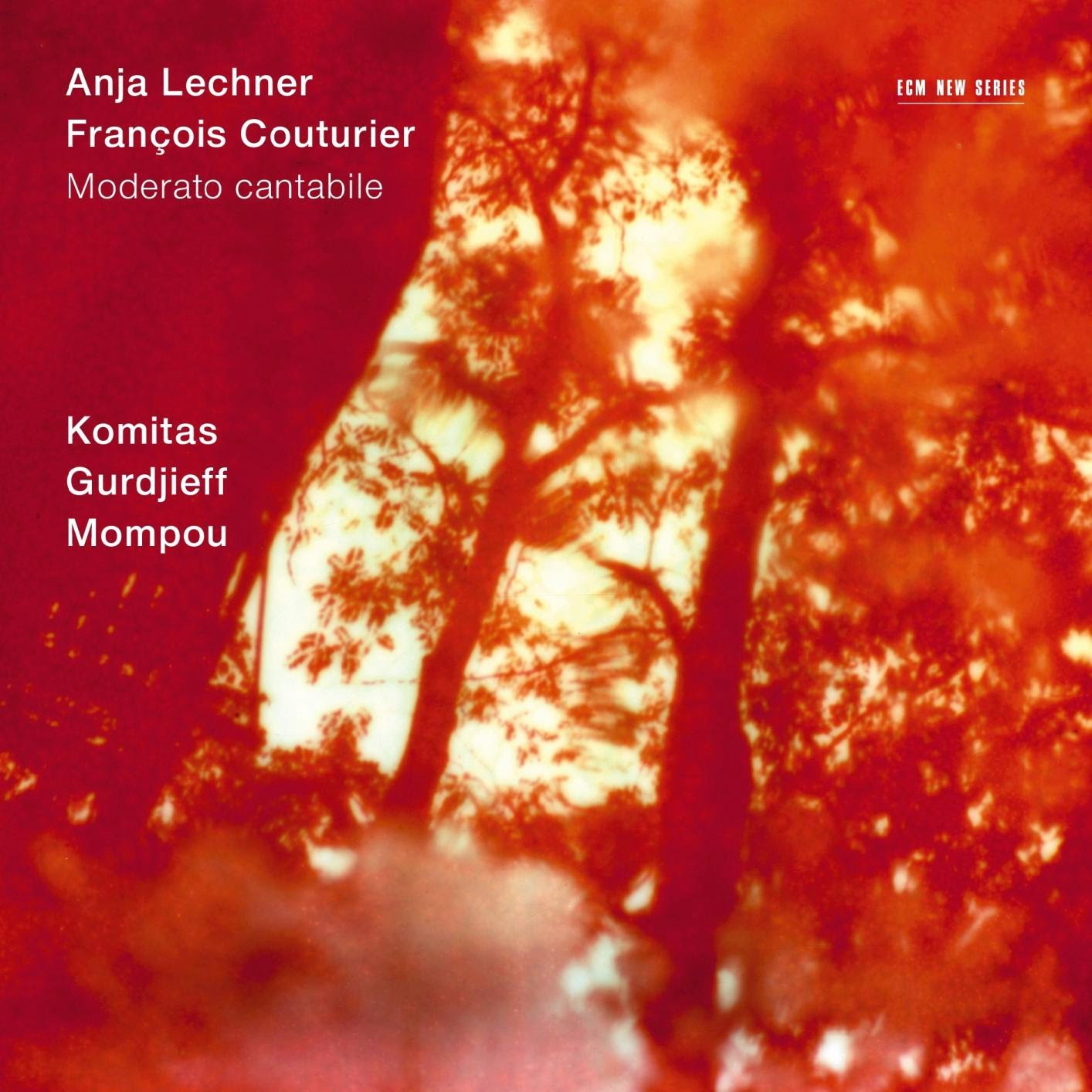 Francois Illas New Tradition: Music Is The Key: Anja Lechner / François Couturier
