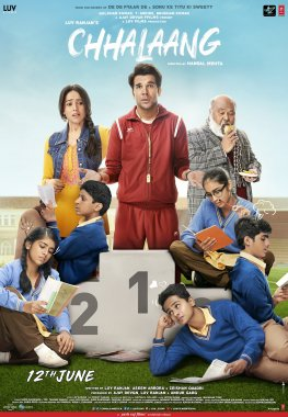 full cast and crew of Bollywood movie Chhalaang 2020 wiki, movie story, release date, Chhalaang Actor name poster, trailer, Video, News, Photos, Wallpaper, Wikipedia