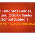 NEW! TGs, DLLs and CGs for Senior High School Subjects