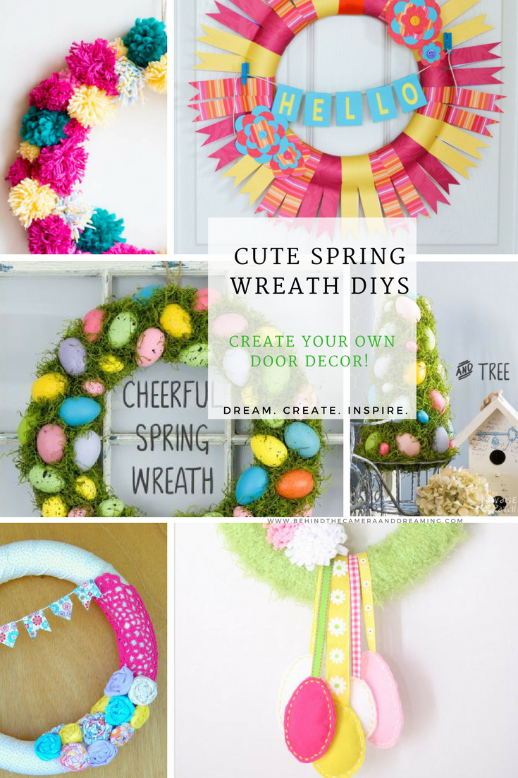 Spring Wreath Decor
