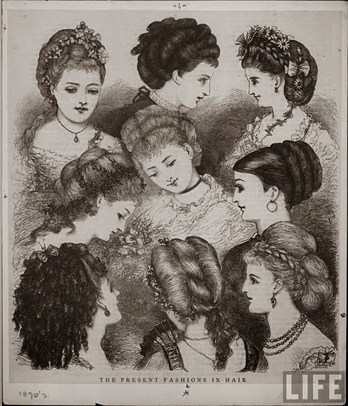 Solent Horror Story: Victorian Hairstyles (1860s