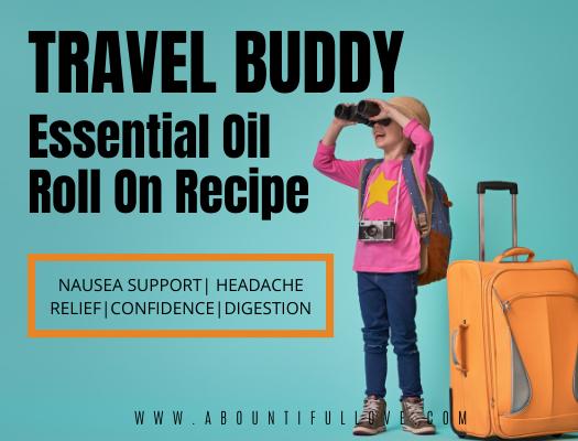 Travel Essential Oil Blend