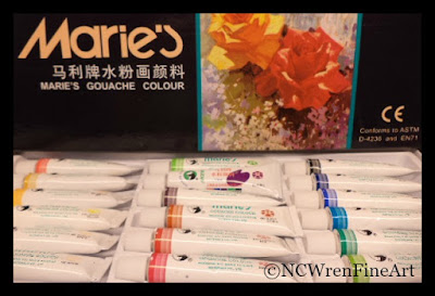 marie gouache review ncwren