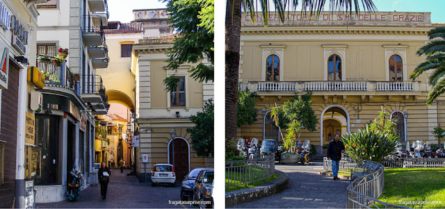 Piazza Tasso, Sorrento, Itália