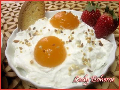 hiperica di lady boheme blog di cucina, ricette facili e veloci. Ricetta uova al tegamino dolci