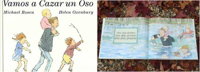 cuentos infantiles inpiracion filosofia educacion montessori vamos a cazar un oso