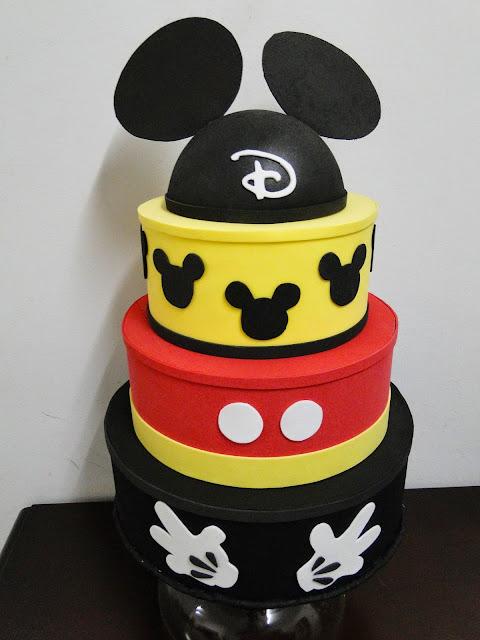 Bolo Fake Mickey Mouse
