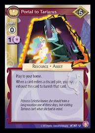 My Little Pony Portal to Tartarus Absolute Discord CCG Card