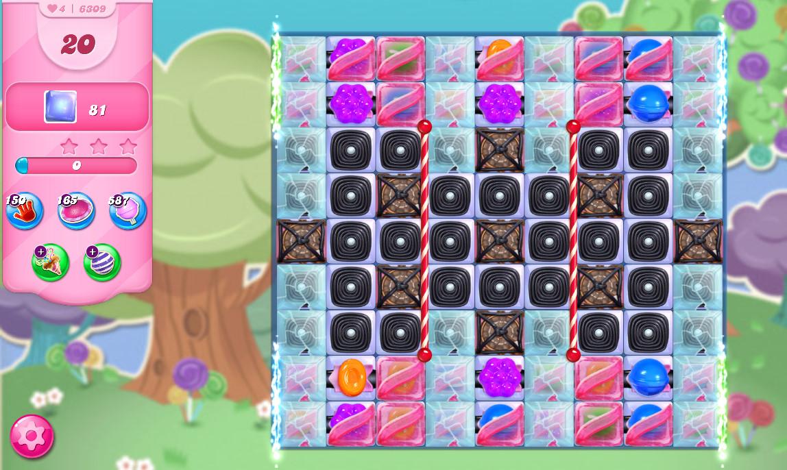 Candy Crush Saga level 6309