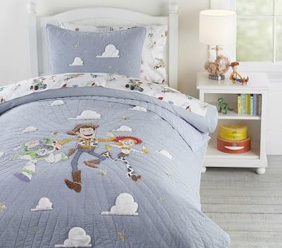Pottery Barn Kids Toy Story Bedding