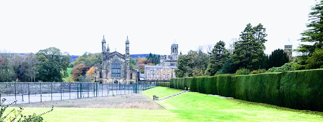 Stonyhurst College viewed from the Tolkien Trail