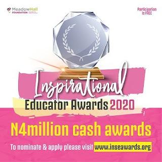 MHF 2020 INSpirational Educator Awards (INSEA) | N4 Million Cash Awards